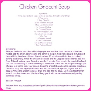 chickengnocchisoup
