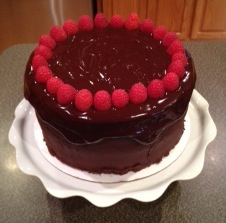 Decadent Chocolate Cake   Alex Runs For Food